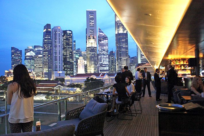 Roof Top Bar With Scene – Place To Hangout